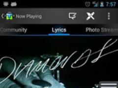 TuneWiki SMP-Music (Motorola) 4.6.3 Screenshot
