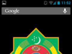Turkmenistan Coat Arms LWP 3D 1.0 Screenshot