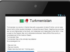 Turkmenistan map 0.0.8 Screenshot