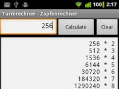 Turmrechner 1.0 Screenshot