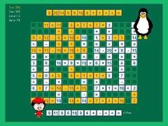 Tux Math Scrabble 2011 Screenshot