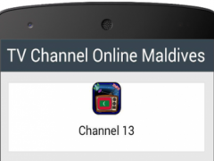 TV Channel Online Maldives 1.0 Screenshot