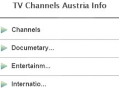 TV Channels Austria Info 1.1 Screenshot