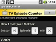 TV Episode Counter 1.1 Screenshot