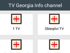 TV Georgia Info channel 1.0 Screenshot
