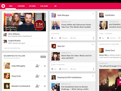 TV Guide gone social: zeebox  Screenshot