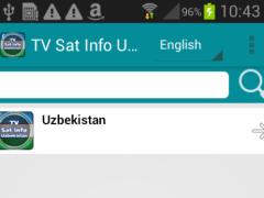 TV Sat Info Uzbekistan 1.0.5 Screenshot