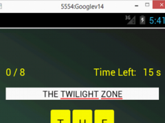 TV Scramble 1.5 Screenshot