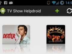 TV Show Helpdroid 1.0 Screenshot