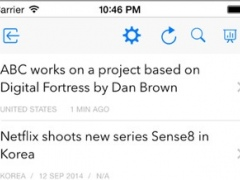 TVbizz App 1.2 Screenshot