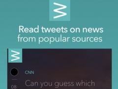 Twead - Tweet reader for news and public posts 1.0 Screenshot