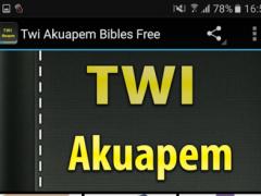 Twi Akuapem Bibles Free 1.0 Screenshot