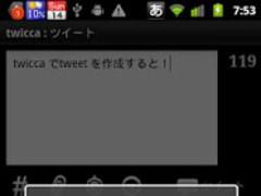 TwiccaPlusPlugin 1.5.0 Screenshot
