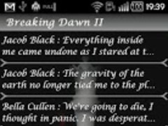 Twiligh Breaking Dawn II Quote 1.0 Screenshot