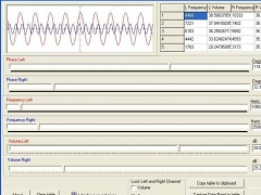Two Channels Frequency Generator 1.0 Screenshot