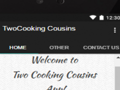 Two Cooking Cousins 1.0 Screenshot
