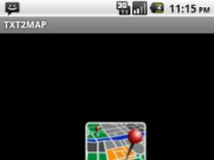 txt2map Free 1.0.1 Screenshot