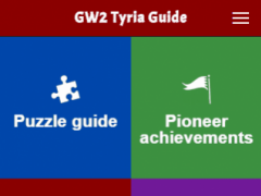 Tyria Guide for Guild Wars 2 2.0.4 Screenshot