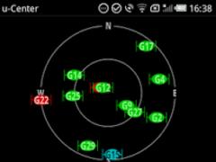u-center GPS evaluation App 1.05 Screenshot