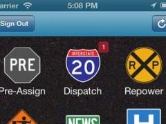 U.S. Xpress Enterprises - Xpress Mobile for Drivers 2.4.4 Screenshot