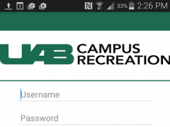 UAB Campus Recreation Account 3.0.6 Screenshot