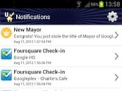 Uber Checkin 4sq auto checkin 50 Screenshot