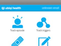 Ubiqi Health Migraine Tracker 2.1 Screenshot