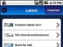 UBS Mobile 1.0 Screenshot