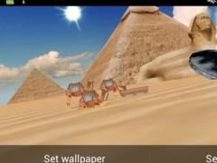 UFOS over Egypt Live Wallpaper 0.1 Screenshot