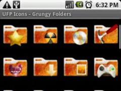 UFP Icons - Grungy Folders 1.0 Screenshot