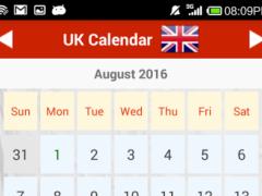 UK Calendar 1.4 Screenshot