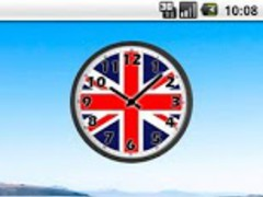 UK Flag Analog Clock 2.1 Screenshot