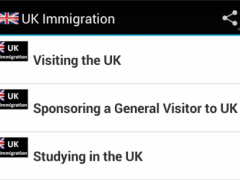 UK Immigration 1.0 Screenshot