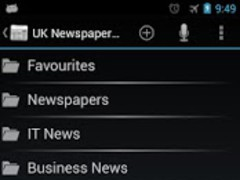 UK Newspapers Online  Screenshot