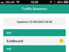 UK Traffic News - Twitraffic 3.0.0 Screenshot