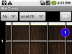 Uke Chords 1.0 Screenshot