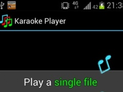 Ulduzsoft Karaoke Player Paid 1.1 Screenshot