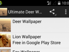 Ultimate Deer Wallpapers 1.0 Screenshot