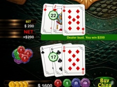 Ultimate Dragon BlackJack Blitz - top Vegas card betting game 1.4 Screenshot