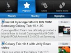 Ultimate Galaxy Tab 10.1 App 3.83.0 Screenshot