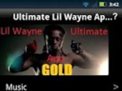 Ultimate Lil Wayne App GOLD 1.4 Screenshot