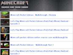 Ultimate Minecraft Cheat Guide 1.0 Screenshot