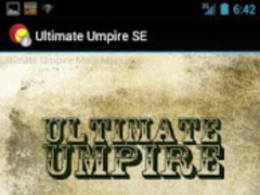 Ultimate Umpire Scorecard 1.2.3 Screenshot
