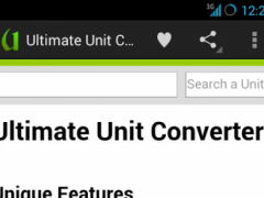 Ultimate Unit Converter (IAB) 1.2.1 Screenshot
