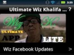 Ultimate Wiz Khalifa App LITE 1.0 Screenshot