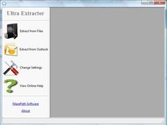 Ultra Extractor 2.2.1.41 Screenshot