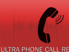 ultra phone call recorder 1.1 Screenshot