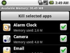 Ultra Task Killer 1.4 Screenshot