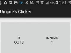 Umpire's Clicker 1.0 Screenshot