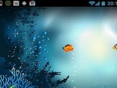underwater aquarium wallpaper 2.2.1 Screenshot